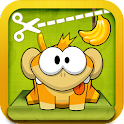 Catch the Banana - Rope Monkey icon