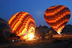 We did a hot air balloon flight in Cappadocia.