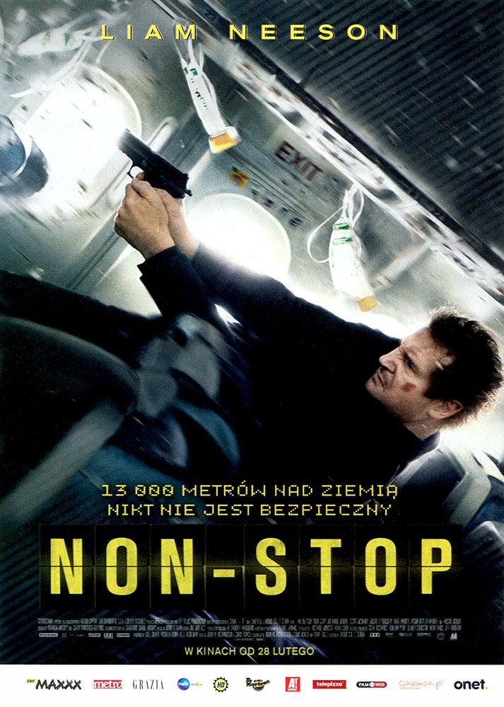 Ulotka filmu 'Non-Stop (przód)'