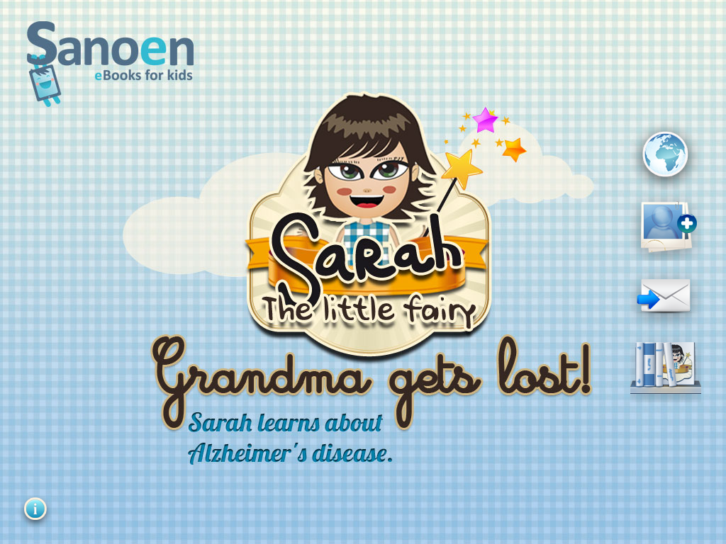 Sarah the Little Fairy Grandma Gets Lost! Main Page