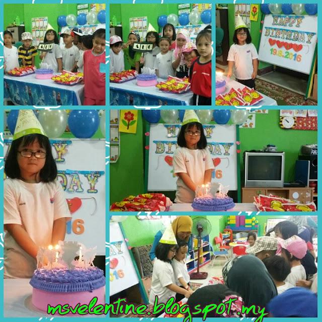 Sekitar Sambutan Birthday Wani 19.08.2016