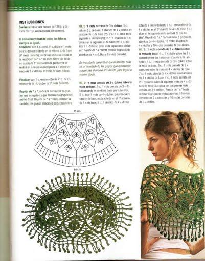Materiales gráficos Gaby  Capas y ponchos en crochet 6ec9ee79758