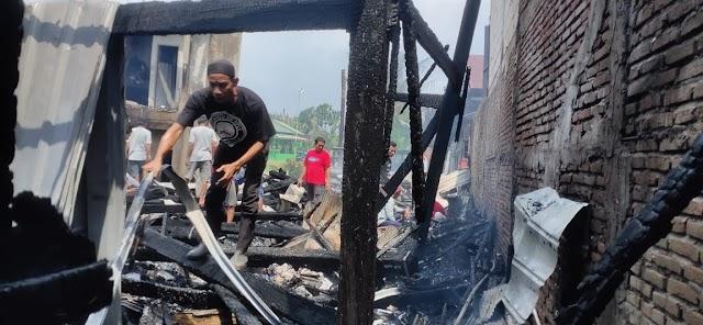Tiga Rumah BTN Antara Terbakar, Penyebab Korsleting Listrik