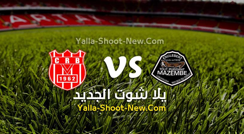 مباراة مازيمبي وشباب بلوزداد