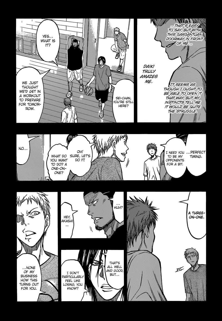 Kuroko no Basket Manga Chapter 260 - Image 03