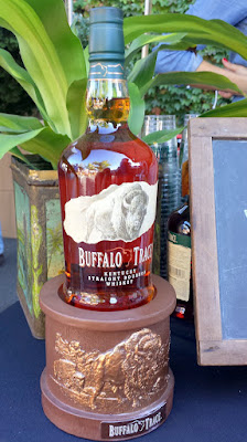 Buffalo Trace offered cocktails or a frozen slushie fortified with their bourbon and Stumptown coffee