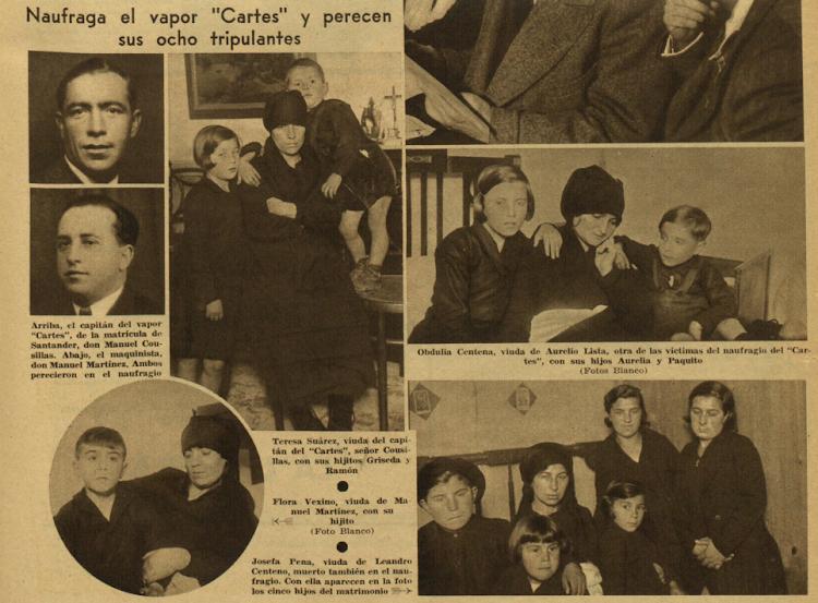El dolor por la tragedia. Revista Ahora, de Madrid, edición de 3 de diciembre de 1935, p. 20.png