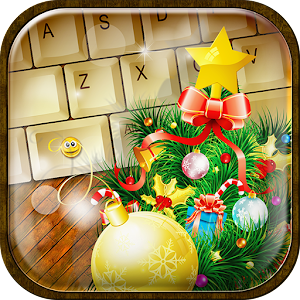 Christmas Emoji Keyboard Theme