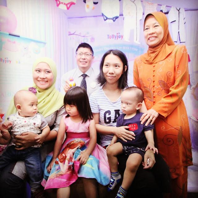 Hari Bayi Pertama di Malaysia 2015 Anjuran Tollyjoy