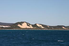 Sand cliffs, Moreton Island