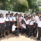 Plantation activity for Grade-VIII Achievers on 25th June 2015