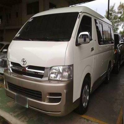 Toyota Grandia Commuter Van