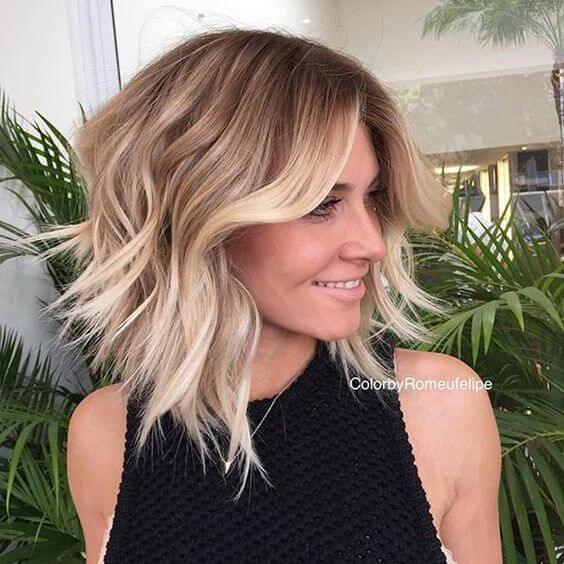 Balayage Short Hair Blonde 2018 6