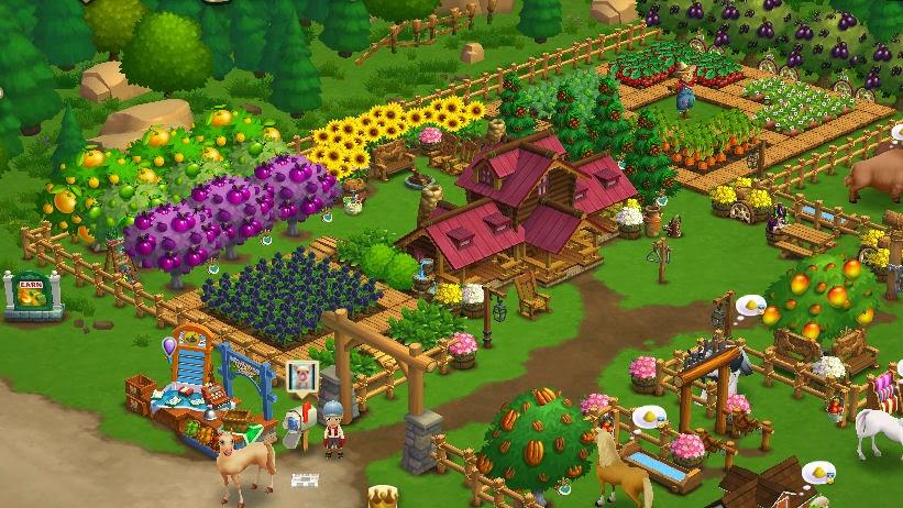 Contratar jornaleros y ayudar vecinos en Farmville 2