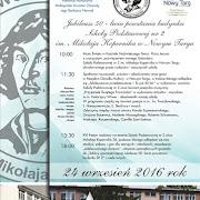 Jubileusz 50-lecia powstania budynku Szkoły Podstawowej nr 2 im. Mikołaja Kopernika w Nowym Targu