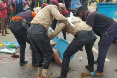 Truck Crushes Woman To Death While Crossing Expressway In Onitsha
