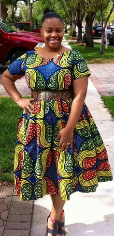 Plus Size African Traditional Dresses Styles 7
