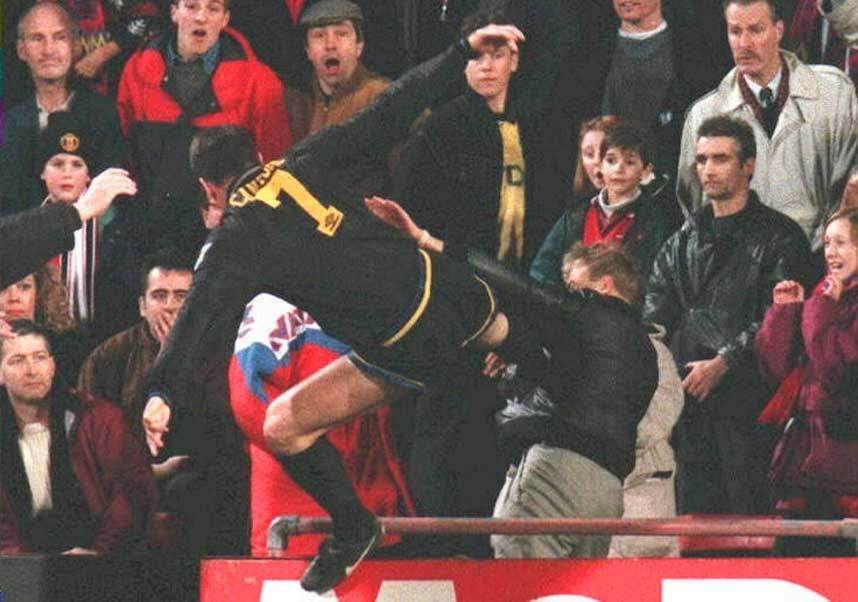 Download and discover more similar hd wallpaper. Manchester United Wallpaper For Iphone 4s Eric Cantona Kung Fu Kick Was Best Moment Of My Career Video