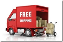 free shipping truck red