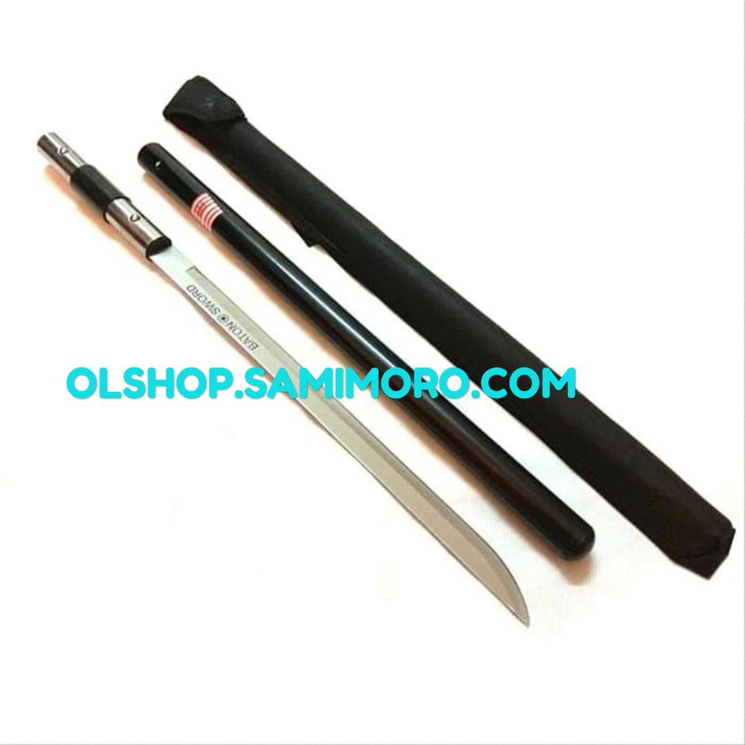 Pedang dalam tongkat/ pedang baton keren praktis