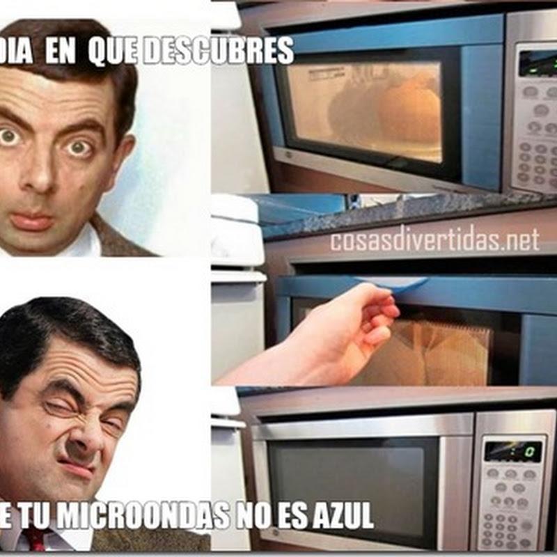 Meme humor el microondas
