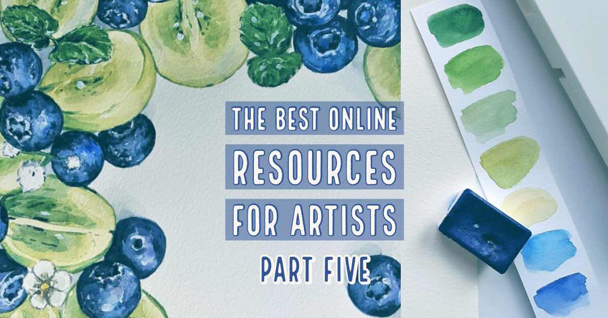the best online resources for visual artists part five