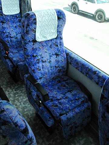 富山地方鉄道「富山東京線」 ・705 シート
