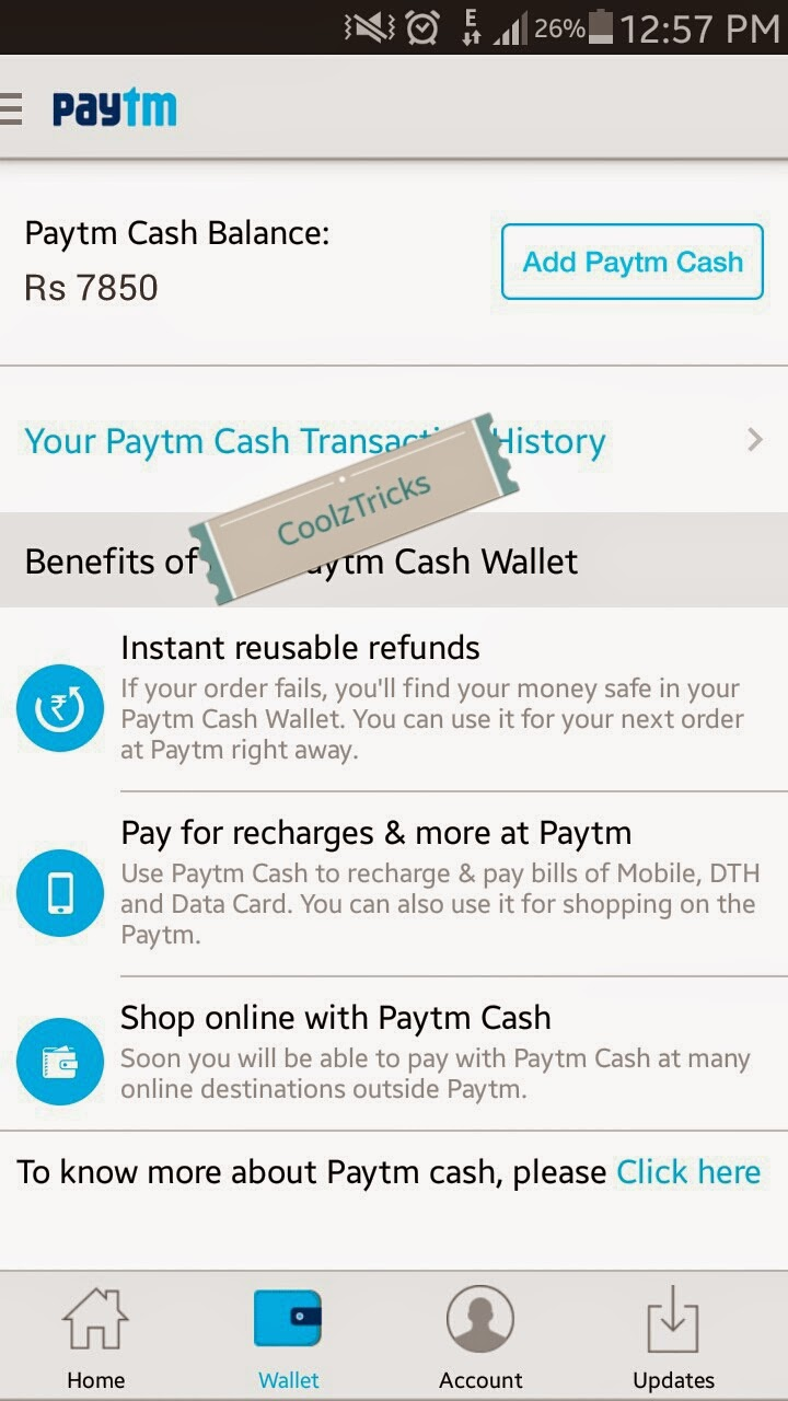 Bang*) Paytm Hack Trick-10 ka 50 Unlimited full Recharge