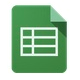 google spreadsheet icon