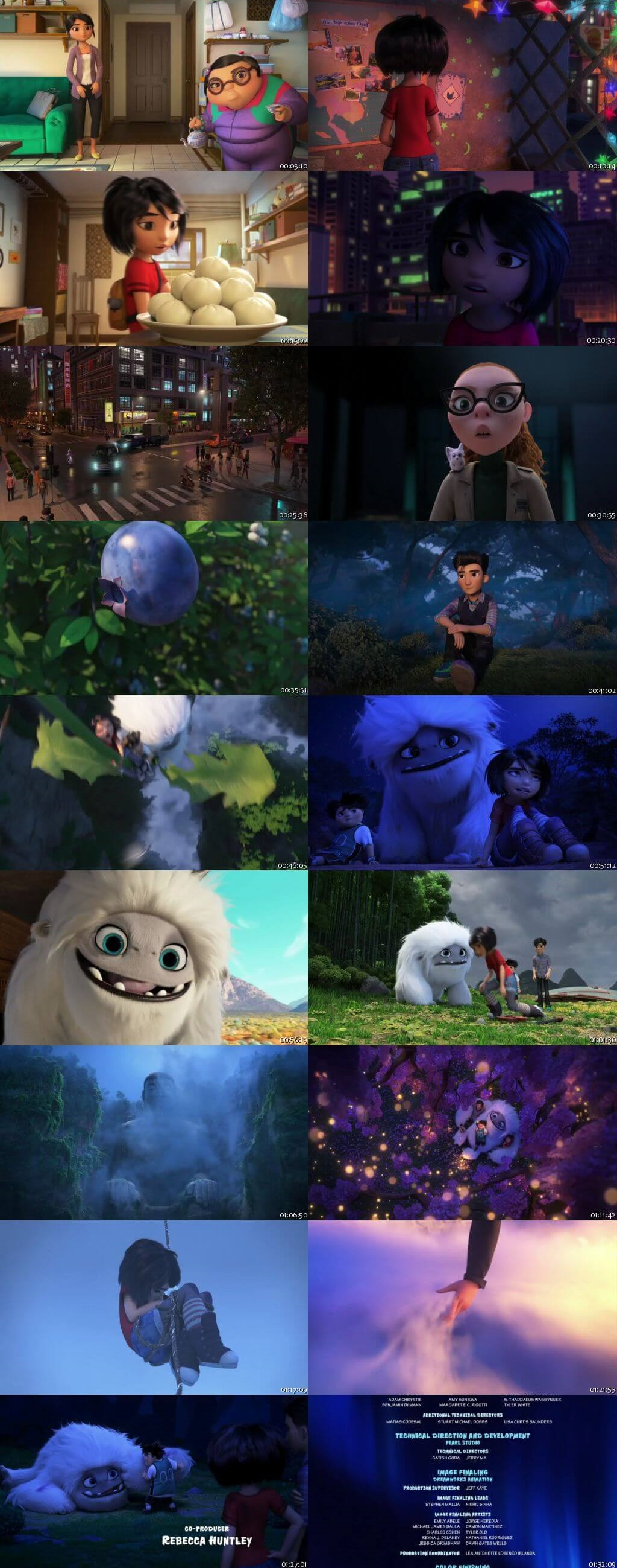 Screen Shot Of Abominable 2019 Full Movie Download Free Watch Online 300MB