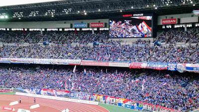横浜F・マリノスゴール裏