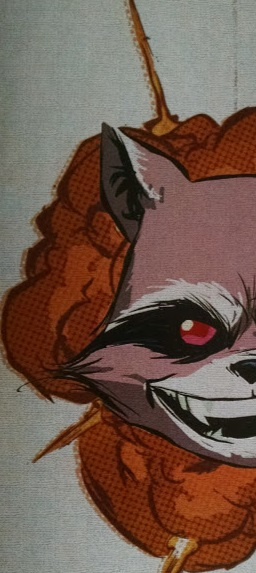 Half Rocket Raccoon symbol
