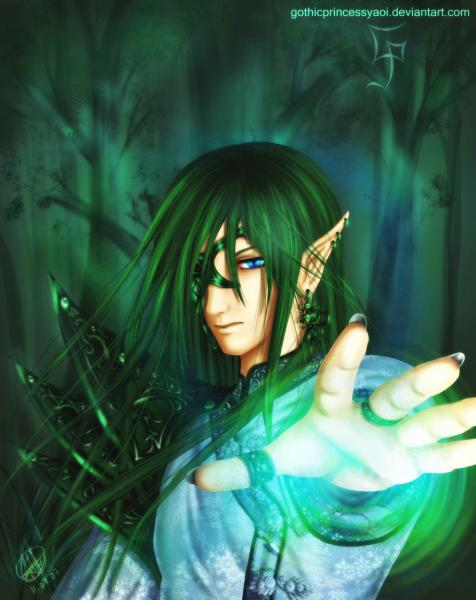 Elf Prince By Gothic Princess Yaoi, Elven Girls 2