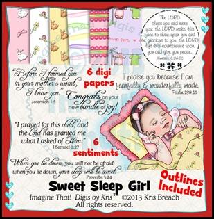 PROMO Sweet Sleep Girl