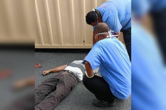 Lelaki maut terkena renjatan elektrik