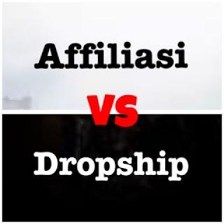 kelebihan dan kekurangan affiliasi vs dropship mana yang lebih bagus