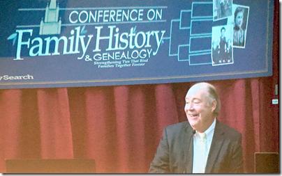 T.C.基督徒地址2015年BYU关于家族史和家谱会议。