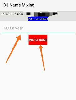 Dj song mixing in hindi