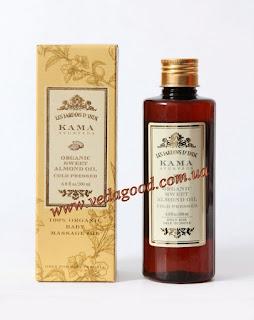 Органическое масло Сладкого миндаля, Кама Аюрведа, <b>Organic</b> ...