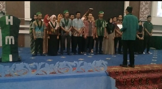 Sahlan Abarang Resmi Jadi Ketua HMI MPO Cabang Manado