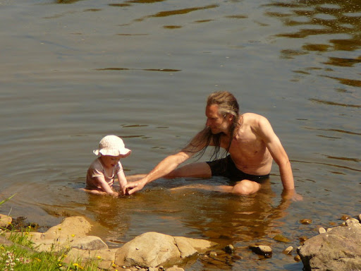 july 10 huw in river.jpg