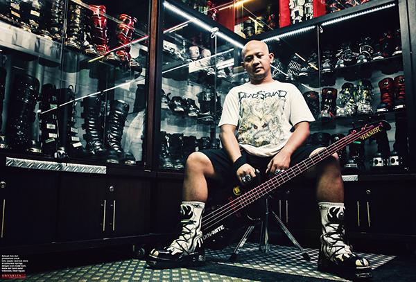 Rumor Mantan Bassist Deadsquad Boni Sidarta Gabung Kembali Bersama Deadsquad