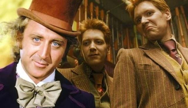 Teoria Harry Potter: Jorge Weasley seria o próprio Willy Wonka de a fantástica fábrica de chocolate?