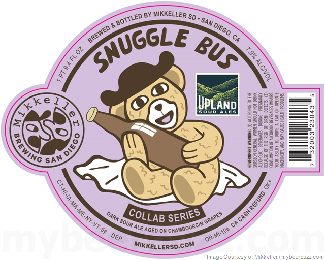 Mikkeller San Diego & Upland Collaborate On Snuggle Bus