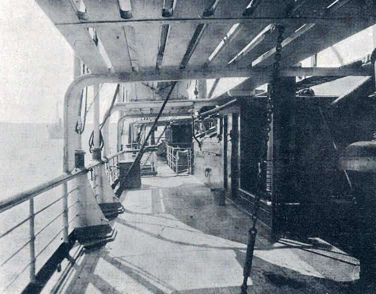 Cubierta de paseo. Revista La Vida Marítima. Año V. Num. 174. 30 de Octubre de 1906.JPG