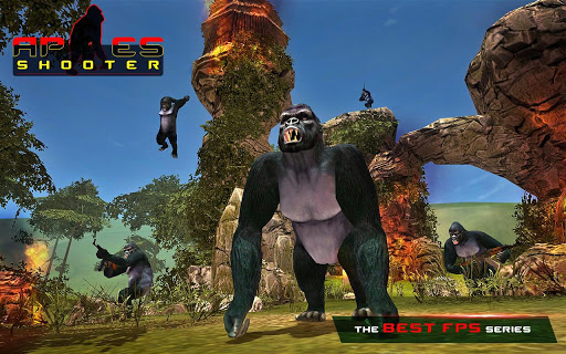 Download Apes Hunter - Jungle Survival v1.1.2 APK - Jogos Android