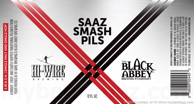 Hi-Wire Brewing & The Black Abbey Collaborate On Saaz Smash Pils