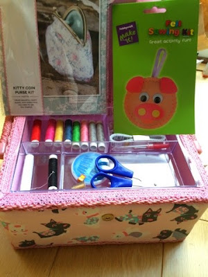 Hobbycraft Sewing Basket
