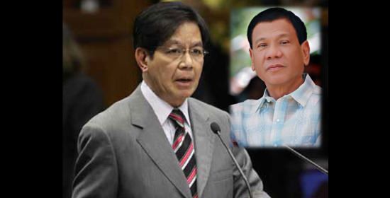 Image of Senator Lacson Backs President Duterte on Re-Opening Mamasapano Probe