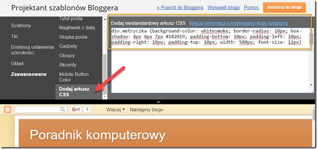 BloggerKlasyStylow